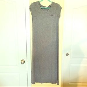 Gap Long T-Shirt Gray Dress size Medium